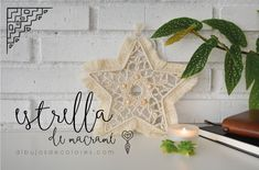 macrame christmas star Macrame Design, Christmas Star, Stars, Crochet, Estilo Boho, Bag, Make A Purse, How To Make Bags, Crafts To Make