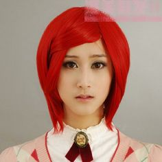 Short straight red cosplay wig Big Brother house wig V 30... https://www.amazon.com/dp/B00GH4OGPS/ref=cm_sw_r_pi_dp_x_zqgRybEXPBNXP