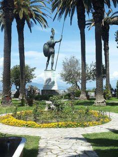 Κέρκυρα Greece Holiday, Greece Islands, Corfu, Greek Life, Greece Travel, Statue Of Liberty, Countryside, Travel Inspiration, Miami