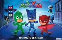 Wall Poster - PJ Masks - Hero