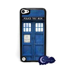 iPod touch 5th gen Doctor Who TARDIS case via Etsy