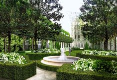 Come pianificare un Luxury Garden Garden Villa, Terrace Garden, Garden Seating, Cottage Gardens, Landscape Design, Garden Design, The Ritz Paris, Paris Garden, Boxwood Garden
