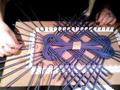Adaptations in the weaving of the newspaper | плетение из газетных трубочек | Postila
