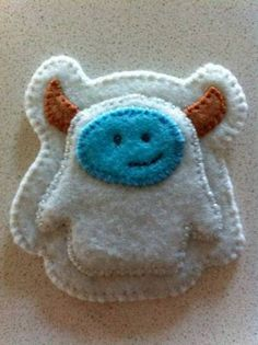 Felt badges - yeti!!! if he was orangeish brown with a tan face it would be luto! i really want a felt badge set for laberinth !!!!! mirrormask felt badges would be awsome too but not alot of people saw the movie, so deff see my pinterest mirrormask board!