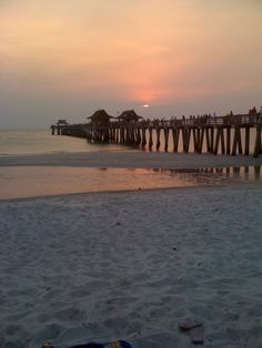 Naples, FL Sunset. There are some things I miss about Naples!