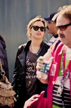 Demi Lavato wearing Healthy is the new Skinny T-shirt!