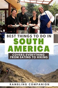 Looking for the best things to do in South America? I've got you covered with the best experiences and destinations that need to be on your South America bucket list. I include everything from what to eat to where to hike and so much more! Backpacking South America, South America Travel, Travel Abroad, Travel Tips, Caribbean Honeymoon, South America Destinations, Travel General, In Patagonia, Antarctica