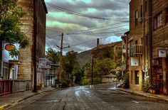 Rainswept streets of Jerome, Arizona. Diana Graves Photography. Wow! I thought I was the only person who knew Jerome... Of course, that was in 1956 or so!