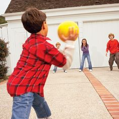 Different ball games for younger kids.