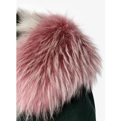 Mr & Mrs Italy fur lined hooded parka ($7,750) ❤ liked on Polyvore featuring outerwear, coats, hooded parka, fur hood parka, fox fur coat, red parkas and fur hooded coat