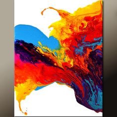 Abstract Art Print - 11x14 Contemporary Modern Fine Art by Destiny Womack  - Rejoice - dwo $25.00
