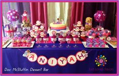 Happy 4th Birthday Aniyah Birthday Party Ideas | Photo 5 of 9 | Catch My Party