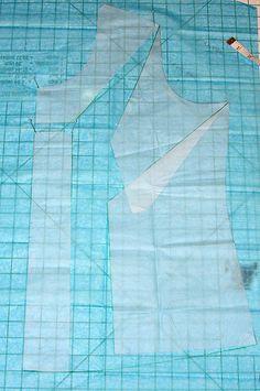 FBA for knits - no dart  Step 5 by Vicki Kate Makes, via Flickr