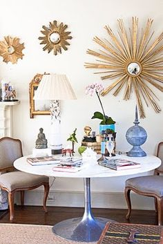 living room Christy Ford via And George