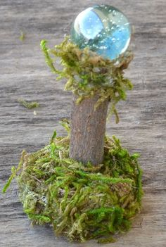 Fairy Gazing Balls for Fairy Gardens, Fairy Houses, Miniature displays…