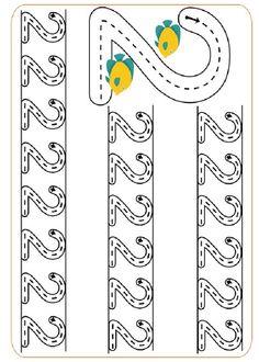 Actividades para imprimir Practica la escritura de los números 11