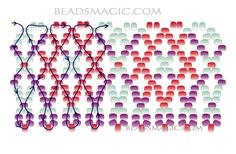 beaded+jewelry+patterns | Free pattern for beautiful beaded necklace Agnes | Beads Magic