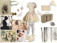 """Vintage love"" by hachi13 ❤ liked on Polyvore"