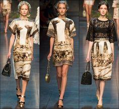 Dolce Gabbana Spring Summer 2014 Milan Fashion Week 02
