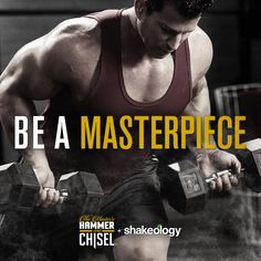 motivational quote from sagi kalev the hammer of beachbody 39 s hammer chisel hammer and chisel. Black Bedroom Furniture Sets. Home Design Ideas