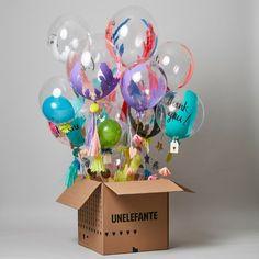Tu destino de regalos. Globos gigantes, chocolates artesanales y diseño.