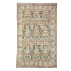 """Oushak Collection Oriental Rug, 5'1"""" x 8'1"""""""