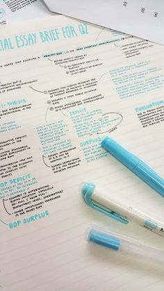 Interesting and very neatly written notes