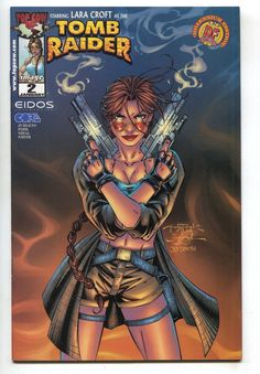 Tomb Raider 2 B Image 2000 VF NM Andy Park Dynamic Forces DF Millenium Variant
