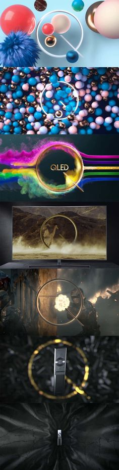 Samsung-Q---The-Next-Innovation-in-TV    title design, Main Title Design, motiondesign, motion graphics, Motion, Design, Style Frames