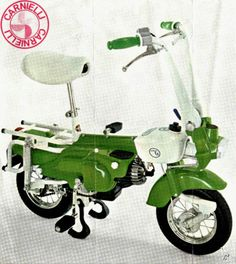 mini bikes always remind me of the hubs