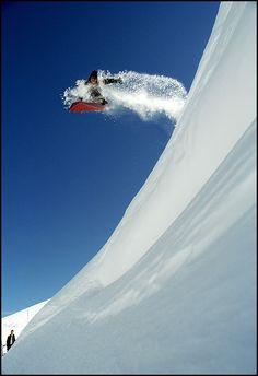 ランスでスノーボード