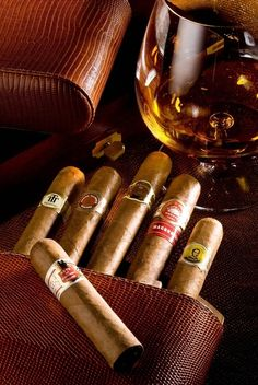 cognac and cigars. Cognac by Rémy Martin Good Cigars, Cigars And Whiskey, Cuban Cigars, Whiskey Bottle, Zigarren Lounges, Cigar Bar, Cigar Humidor, Cigar Room, Pipes And Cigars