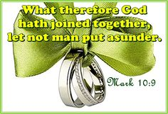 Mark 10:9 Mark 10 9, Marriage Bible Verses, Let It Be, Bible Verses About Marriage