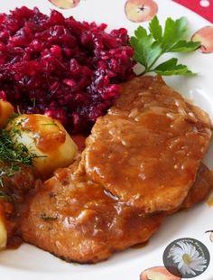 Pin by Zofia Bartochowska on ciasto Kielbasa, Wonderful Recipe, Polish Recipes, Tandoori Chicken, Pork, Food And Drink, Dishes, Meat, Cooking