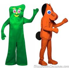 Couples Halloween Costumes Gumby and Pokey - Halloween Costumes 2013