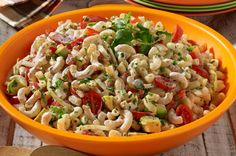 Try this delicious Dreamfields recipe. http://www.dreamfieldsfoods.com/healthy-pasta-recipes/2008/08/southwest-pasta-salad.html