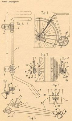 The anatomy of Tullio Campagnolo's invention.