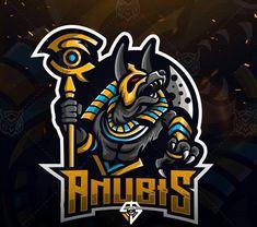 Anubis spoet Gaming Logo, E Sport, Sport Chic, Video Game Logos, Game Logo Design, Esports Logo, Shield Logo, Graffiti, Mystery