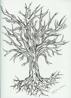 Image detail for -Timburtonfan11 On Deviantart - Free Download Tattoo #30149 Tree Tattoo ...