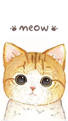 MonChatDore is coming soon - Cat Phone Wallpaper -