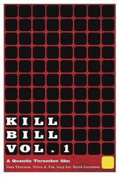 Kill Bill Vol. 1 by Matthew Perdue.  minimalmovieposters.