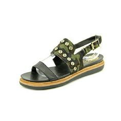 """BRAND NEW Vince Camuto camouflage sandals BRAND NEW, NEVER WORN  Vince Camuto Hennah sandal Classic Camo/Black with gold flat head screw details Width M Leather Upper Material Rubber Outsole Material Open-Toe Toe Type 1.5"""" Heel Height Vince Camuto Shoes Sandals"""