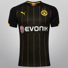 53c8910e77 Camisa Puma Borussia Dortmund Away 14 15 s nº - Compre Agora