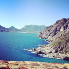 Makes for a perfect Sunday drive with a view - Chapmans Peak looking into Hout bay. South Africa, Westerns, Cape, Sunday, Outdoor, Beautiful, Mantle, Outdoors, Cabo