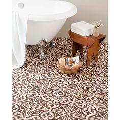 Hammersmith Feature Brown Floor 331X331 | bathstore