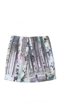 Enchanted Forest Mini Skirt