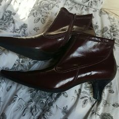 Franco Sarto heels - 7 & 1/2 Medium They look brand new! No visible wear. Franco Sarto Shoes Ankle Boots & Booties