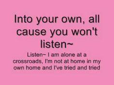 "۞ ۩ ♫ * Beyonce , ""Listen"" (Lyrics) :::http://youtu.be/1YfTwqNdmgg"