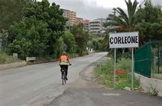 Corleone, Sicily. Yes it does exist. It's a small town south of Palermo on the western side of the island.