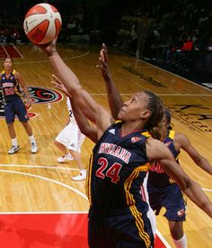 Tamika Catchings - hard of hearing Olympic Gold Medalist & current WNBA Player